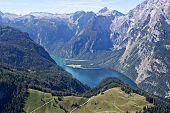 Watzmann-massif with Koenigssee