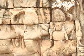 Angkor Wat Wall Carving