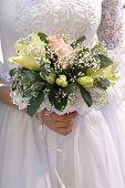 Bride Wiht Bouquet