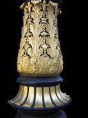 Ornate column base