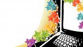 Modern Technology Celebration Background