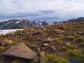 Rain Over Alpine Tundra