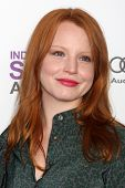 LOS ANGELES - FEB 25:  Lauren Ambrose arrives at the 2012 Film Independent Spirit Awards at the Beach on February 25, 2012 in Santa Monica, CA