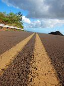 Brown Dusty Road