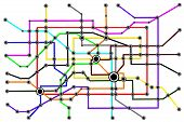 Subway System Network Connections