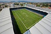 GRAZ, AUSTRIA - JULY 11 A view from the roof of the UPC Arena at the Football World Championship on