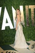 WEST HOLLYWOOD, CA - FEB 26: Bar Refaeli at the Vanity Fair Oscar Party at Sunset Tower on February