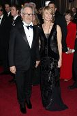 LOS ANGELES - FEB 26:  Steven Spielberg; Kate Capshaw arrives at the 84th Academy Awards at the Holl