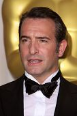 LOS ANGELES - FEB 26:  Jean Dujardin arrives at the 84th Academy Awards at the Hollywood & Highland