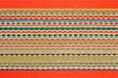 Linen Carpet Texture.