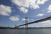 Bridge over Tejo river