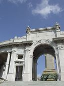 Arch Of A Conmemorative Monument poster