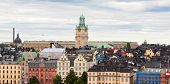 Colorful Architecture Of Stockholm