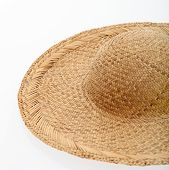Straw Sunhat Or Sombrero