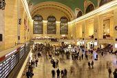 Grand Central Terminal In Manhattan-New York