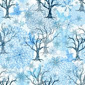 Winter Seamless Pattern