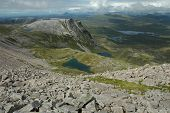 Scotland. A Loch In The Hills.