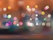 abstract background.Holiday evening city