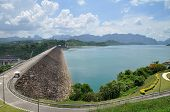 Dam, hydroelectric power station