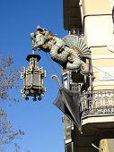 Dragón chino en las Ramblas, Barcelona