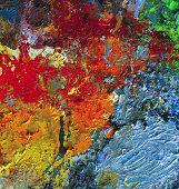 Dry Oil Artist Palette