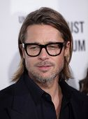 LOS ANGELES - 8 de DEC: Brad Pitt