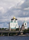 Cathedral In Kremlin Of Pskov poster