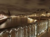 River Seine In Winter