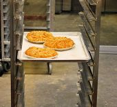 Pies In Bakery