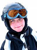 Girl Ski Smile