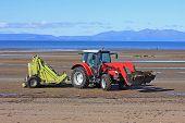 Tractor de playa