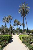 Maria Luisa Park In Sevilla, Spain