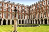 Hampton Court Palace Courtyard, London