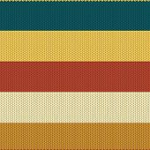 foto of backround  - Striped Coloured Knitted Backround - JPG