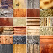 Collection Of Wooden Textures