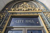 SAN FRANCISCO, CALIFORNIA - JAN 14:  Historic City Hall. The Board of Supervisors unanimously approv