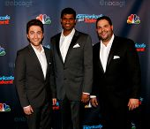 NEW YORK-SEP 4: Operatic tenor group Forte attends the post-show red carpet for NBC's