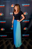 NEW YORK-SEP 4: Singer Cami Bradley attends the post-show red carpet for NBC's