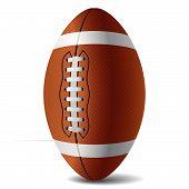 American Football. Vector.