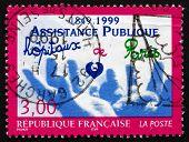 Postage Stamp France 1999 Hands