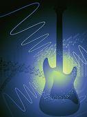 Background Guitar Vertical