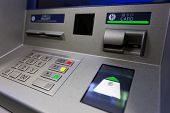 foto of automatic teller machine  - ATM machine - JPG