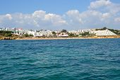 image of vilamoura  - Beach Oura Albufeira Algarve Portugal summer sea - JPG