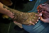 stock photo of henna tattoo  - Image of Henna Tattoo - JPG