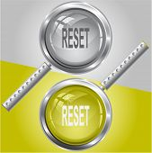 Reset. Raster magnifying glass. Vector version is in my portfolio.