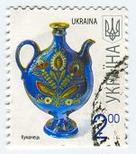 UKRAINE - CIRCA 2013: A stamp printed in Ukraine shows image of the Kumanets (also occasionally Koem
