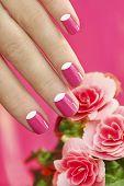 Beautiful manicures.