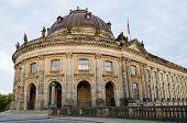 Facade of the Bodemuseum in Berlin, Germany