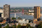Rotterdam And River Maas