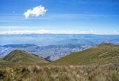 View of Quito